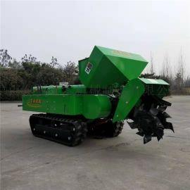 西宁履带式开沟机 开沟施肥一体机生产厂家