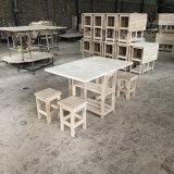 北欧餐桌椅组合可折叠收纳家用小户型组合一桌四凳组合