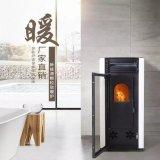 100平方颗粒取暖炉生物质颗粒取暖炉可以做饭