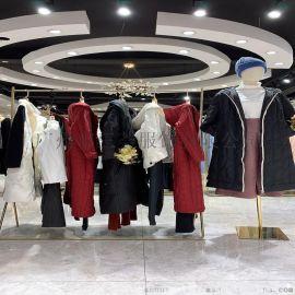 珂尼丽尔女式冬季夹克爆款女装 pu大码外套货源打包