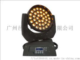 舞台灯光36颗10w调焦摇头灯LED摇头染色灯