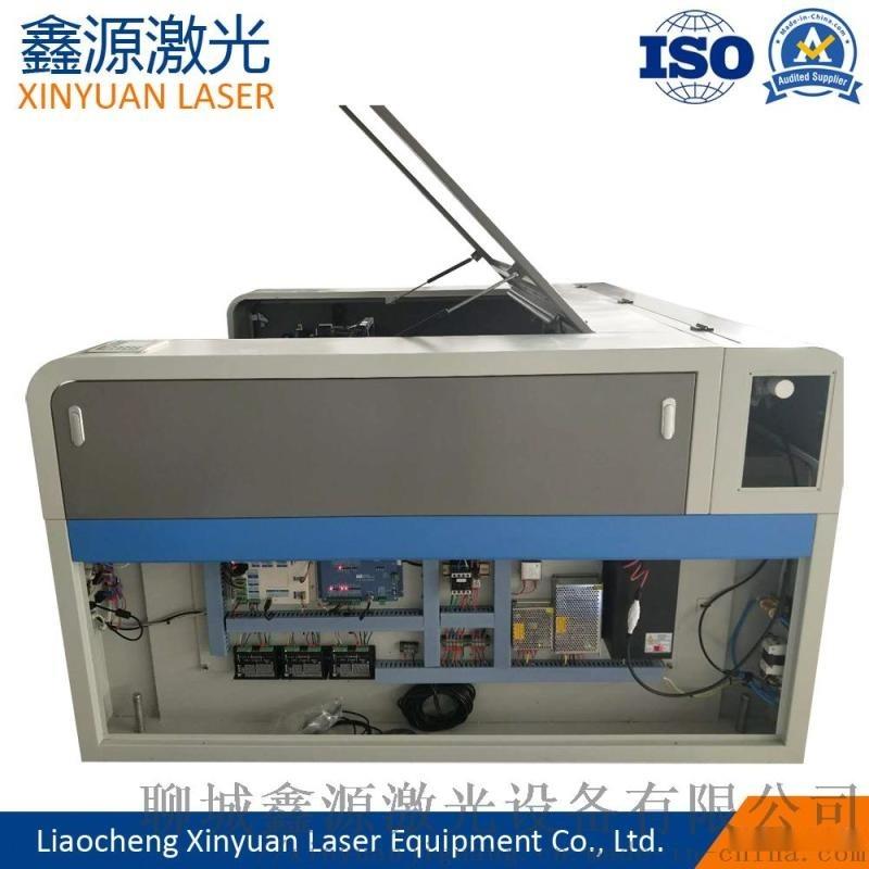 鑫源1610型皮革布料激光雕刻机