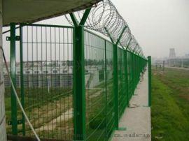 机场护栏网/Y型安全防御网/刀刺绳机场护栏网