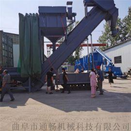 搅拌站干灰水泥自动卸料设备码头粉煤灰卸集装箱拆箱机