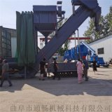 攪拌站幹灰水泥自動卸料設備碼頭粉煤灰卸集裝箱拆箱機