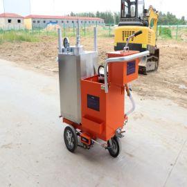 现货供应 道路划线车 沥青混凝土热熔划线机