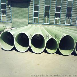 玻璃钢缠绕管道/夹砂管道/排污排水管/玻璃钢电缆管