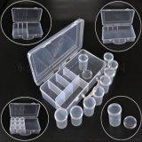 高透明小圆筒液体粉剂药盒收纳蛋白药品