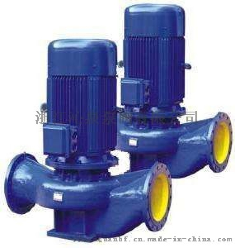 沁泉 立式管道泵 管道離心泵 不鏽鋼管道泵