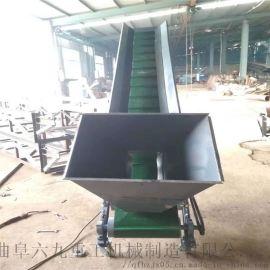 莆田电动升降装车输送机 7米长移动式爬坡输送机参数