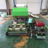 自动断膜干湿草料打捆包膜机 茎秆作物饲料打包机