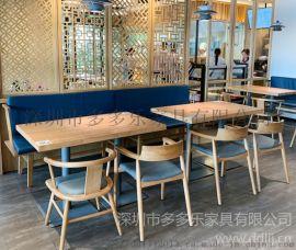 深圳大理石餐桌 中式餐厅桌椅 茶餐厅桌椅