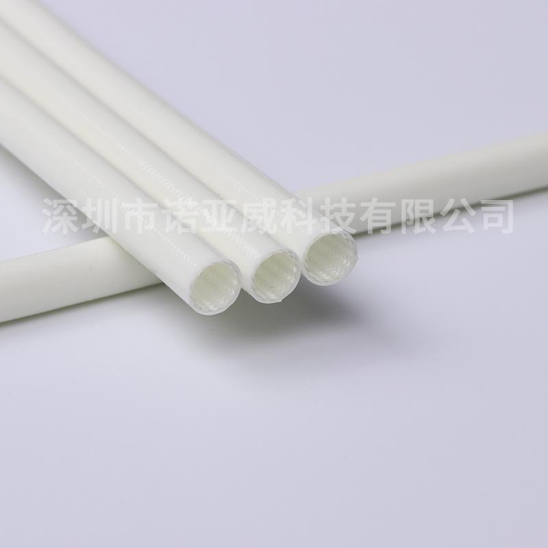 供应外胶内纤管环保阻燃玻纤管电机线路护套管