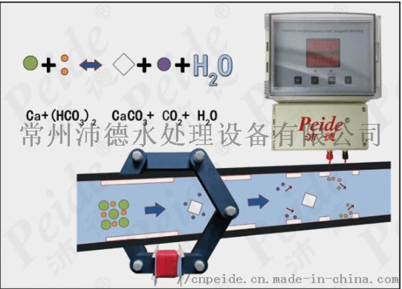 冷却水除垢器沛德厂家物理除垢设备现货直销