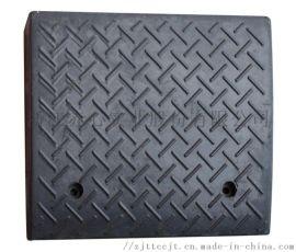**橡胶汽车专用斜坡垫减速坡垫板 赤心厂家生产牙子