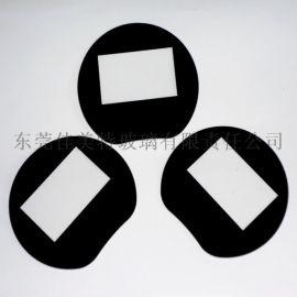 高精度CNC加工1mm玻璃 1mm钢化丝印玻璃