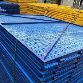 建築爬架安全鋼片網建築高層外架鋼板網