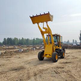 装载机 轮式柴油四驱工程车 建筑工地专用推土铲车