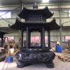 昌东工艺圆形铜香炉厂家,铸铜圆形香炉生产厂家