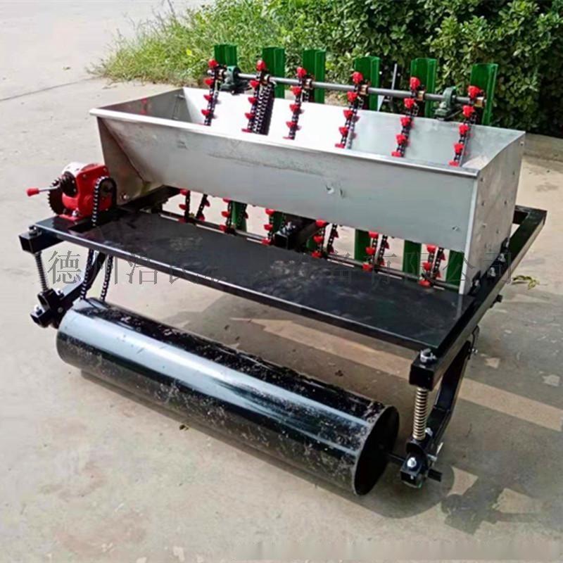 浩民机械定制生产6行大蒜种植机械