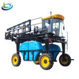 四轮四驱高地隙高架喷杆玉米棉花新型大型自走式打药机