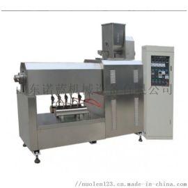 高效节能自动化70型号膨化机双螺杆膨化食品生产主机