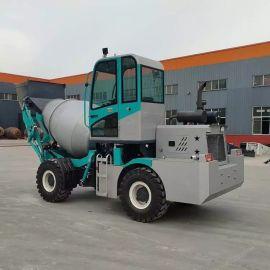 自动上料搅拌车 小型水泥搅拌运输车 混凝土搅拌车