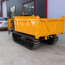 小型农用运输车 工程履带运输车 履带式工程装载车
