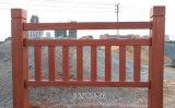 水泥仿木欄杆如何上漆,仿木護欄噴漆上色技巧