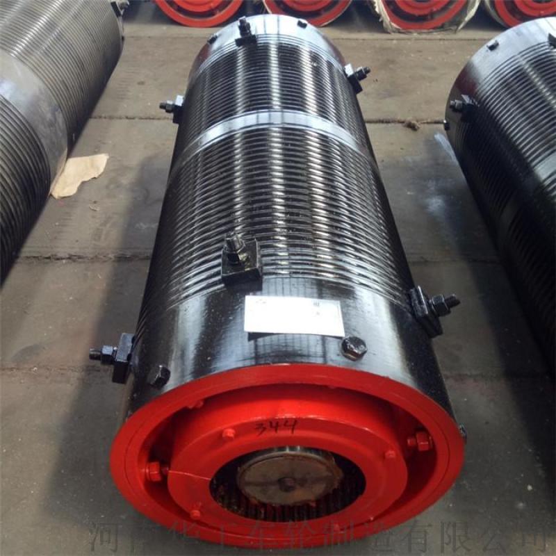 φ500×2000钢丝绳卷筒组钢板卷制起升卷筒组