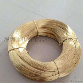 黄铜线 H62铜线 H65黄铜丝0.3mm-5mm