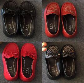 跑江湖地摊中老年女鞋妈妈软布鞋25元模式价格