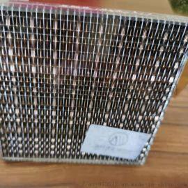 美饰泽金属夹丝玻璃材料防爆玻璃防火玻璃金属材料定制