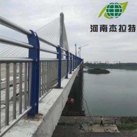 不锈钢桥梁河边防护栏杆