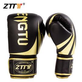 ZTTY厂家直销拳击手套散打拳套男女训练沙袋跆拳专业格斗搏击OEM