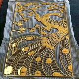 鋁合金中式隔斷屏風 不規則鋁雕屏風工藝廠家