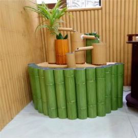 红竹纹金属铝圆管 青色竹纹铝合金型材竹节管