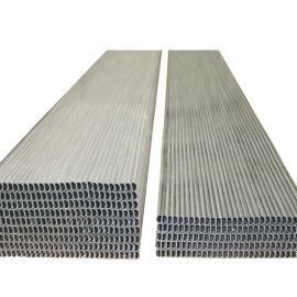 现货供应中空玻璃可折弯铝条 高频焊接铝隔条 中空玻璃铝隔条全规格现货