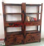 現貨促銷老船木博古架多寶格書架茶架展示架實木傢俱