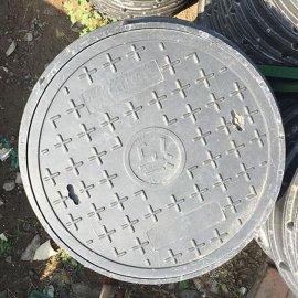 海天旺复合井盖900*60圆形树脂复合井盖电力电信窨井盖
