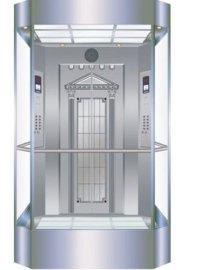 800KG无机房观光电梯