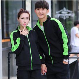 立领开衫秋冬季韩版运动服休闲工装外套加绒拉链卫衣可印企业LOGO