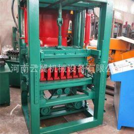 全自动液压砖机4-15型水泥免烧砖机多功能空心砖标砖制砖机