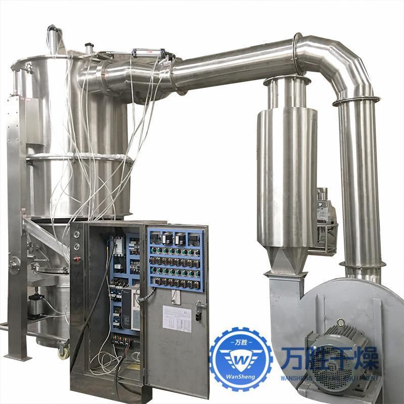 定制立式沸腾制粒干燥机 药材颗粒机 各种型号沸腾制粒机