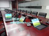 博奧BRZE-5F長方形液晶顯示器翻轉會議桌
