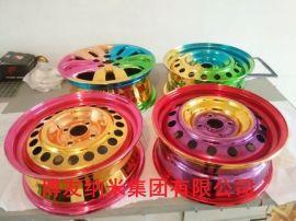 北京汽车轮毂上色喷涂修复改色 纳米轮毂钣金喷镀