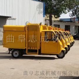 车直销电动三轮垃圾车自动装卸
