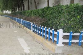 PVC草坪护栏,小区花园护栏,路岸花坛护栏