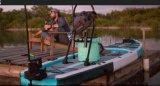 新款  可折叠充气水上钓鱼平台