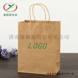 手提礼品袋 通用手提纸袋 手提打包袋 方底纸袋厂家